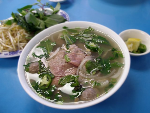 Delicious Pho (photo purloined from Foodbeast.com)