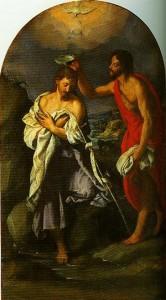 Baptism.Alessandro Allori
