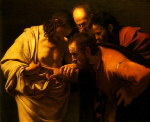 "Caravaggio's ""The Incredulity of Saint Thomas"" (1601-02)"