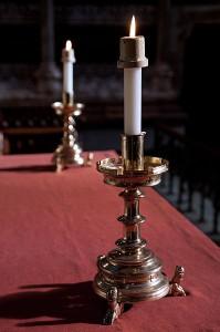 Altar-candlesticks