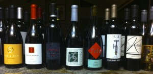 Some of Paso Robles' finest wines . . .