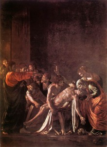 "Caravaggio's ""The Raising of Lazarus."""