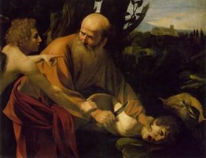 "Caravaggio's ""Abraham and Isaac."""