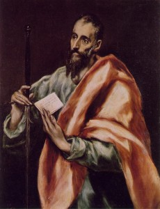 "El Greco, ""St. Paul"" (1606), Oil on canvas"