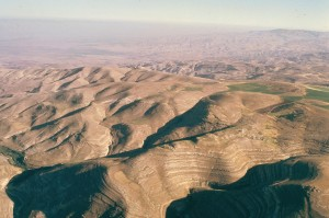 Aerial view of Mt. Nebo and surrounding area...