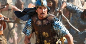 There's a new sheriff, er Moses, in town . . . Christian Bale will soon play Moses in the movies.