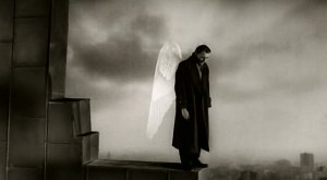 With apologies to It's A Wonderful Life, I think Wim Wenders' Wings Of Desire is the best movie about angels...