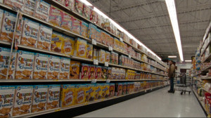 "The supermarket scene in ""Hurt Locker."""