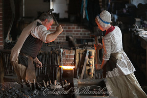 From Colonial Williamsburg . . .