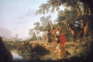 Aelbert Cuyp: The Baptism of the Eunuch Holland (c. 1653)