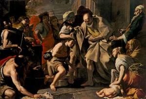 Samuel Anoints David Mattea Preti (1613-1699)