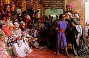 """The Finding of the Saviour in the Temple"" William Holman Hunt - 1862"