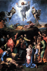 Transfiguration of Jesus - Raphael