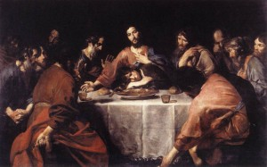"Valentin de Boulogne – ""Last Supper"""