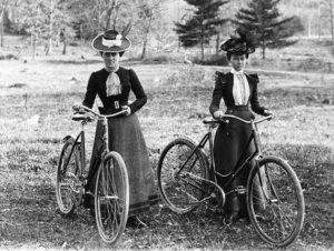 Long before Lycra . . .