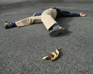 banana peel oops