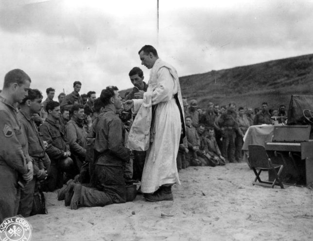 Chaplain in WW2