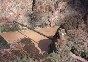 Canyon bridge